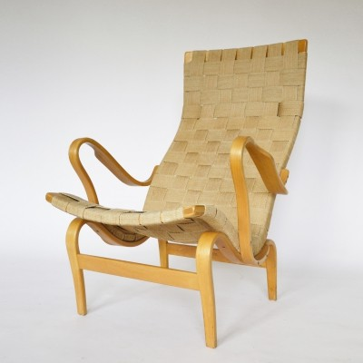 Pernilla Lounge Chair by Bruno Mathsson, 1976
