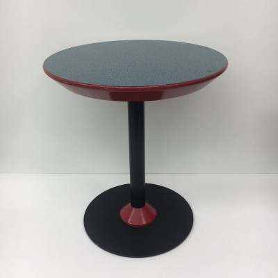 Vintage Memphis style side table, 1980's