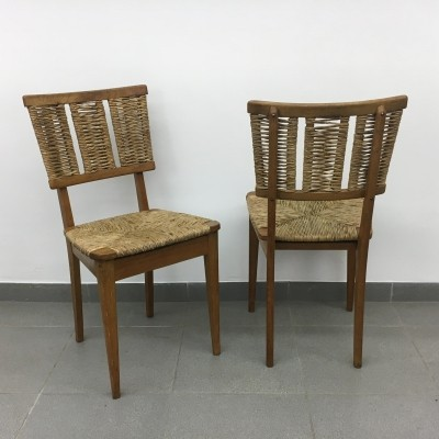 Rare 'goed wonen' chairs by architect Mart Stam, 1947