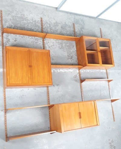 Wall Unit by Kai Christiansen for Feldballes Mobelfabrik, 1960s