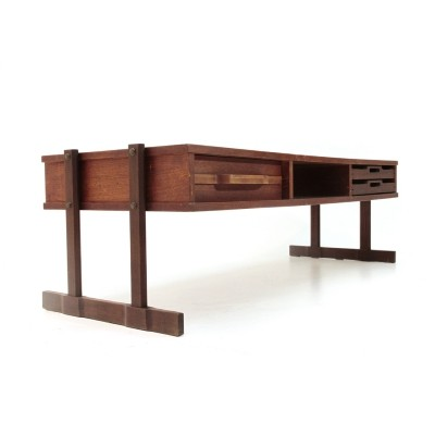 Coffee table with drawer & trays ,1960s