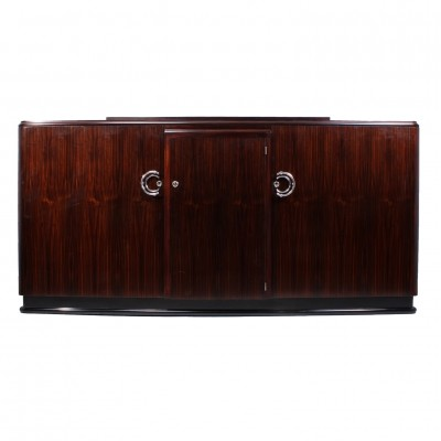 Art Deco Macassar Ebony Sideboard