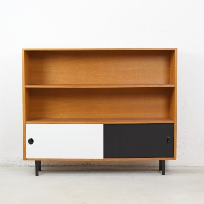 Two tone open storage cabinet from Denmark, 1970's