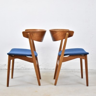 Model No. 7 side chairs by Helge Sibast for Sibast Furniture, Denmark 1950's