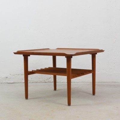 Square cocktail table by Poul Jensen for Selig, Denmark 1960's