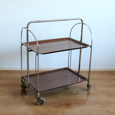 2 x Gerlinol serving trolley, 1960s