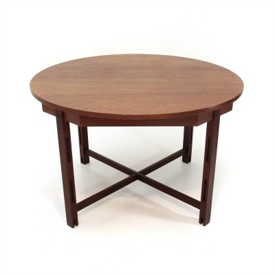 Mid-century modern dining Table with circular top, 1960s