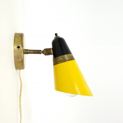 Italian wall lamp from the fifties