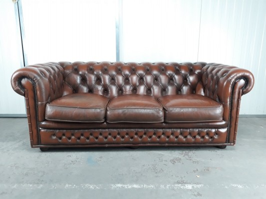 Original English import Chesterfield sofa
