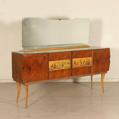 Buffet with Mirror, 1950s-1960s