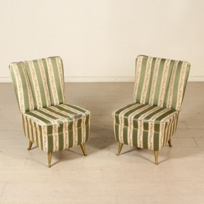 Pair of chairs by Isa, 1950s-1960s