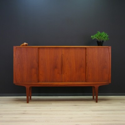 Highboard in teak, 1970s