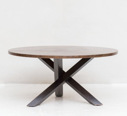 Large round dining table by Martin Visser for 't Spectrum