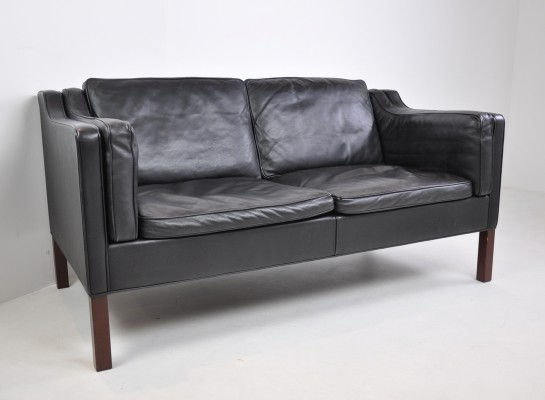 Two-Seater Sofa by Børge Mogensen for Fredericia, Denmark, 1960s