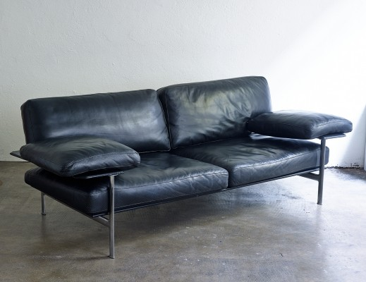 Leather Sofa 'Diesis' by Antonio Citterio for B&B Italia