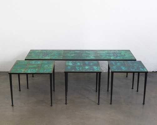 Side & coffee Tables by Jean Lurçat