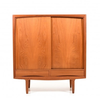 Danish Teak Highboard by Gunni Omann for ACO