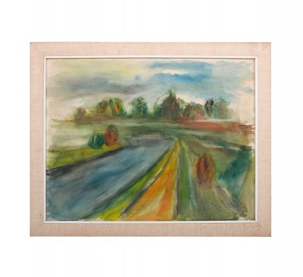 Fine impressionist Painting / Watercolor 1930-40