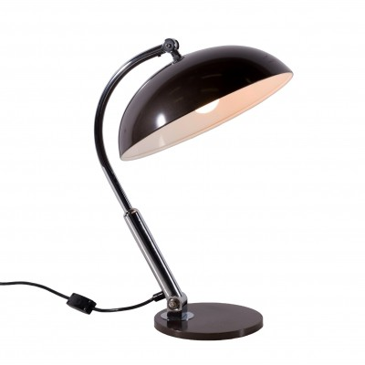 2 x model 144 desk lamp by H. Busquet for Hala Zeist, 1960s
