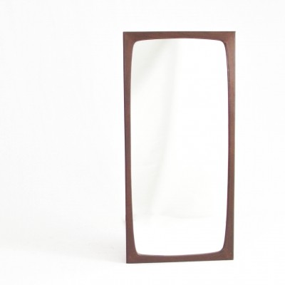 Teak mirror by ISA, Italy 1960s
