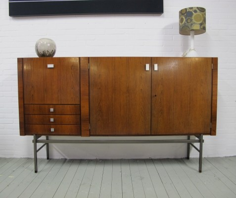 Rosewood highboard by Louis van Teeffelen for Wébé, 1960s