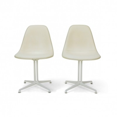 Early Eames Herman Miller Side Chair with la Fonda Base, 1960s