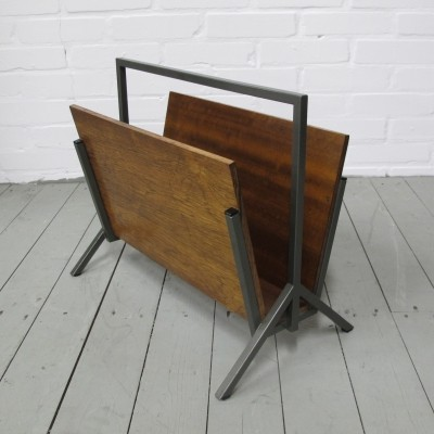 Vintage rosewood Magazine Holder, 1960s