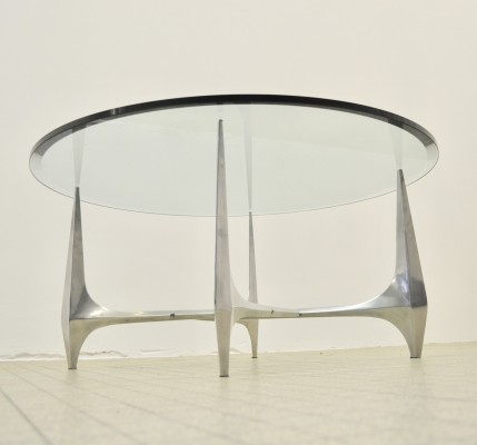 Vintage design coffee table by Knut Hesterberg for Ronald Schmitt