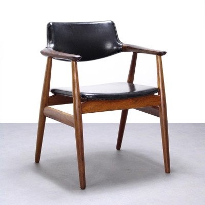Rosewood armchair by Svend Aage Eriksen, 1960s