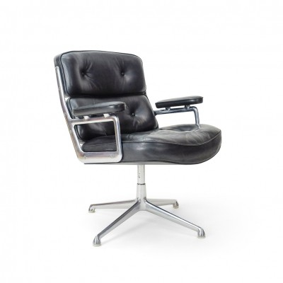 Vintage Eames Time Life Lobby Chair by Vitra