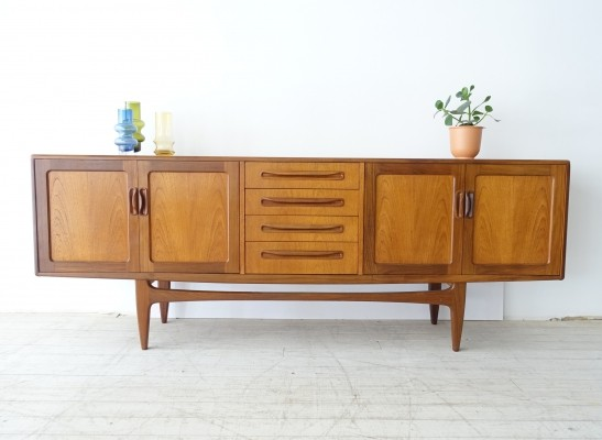Teak sideboard / credenza by Victor Wilkins produced by G-plan