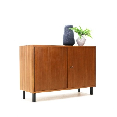 Small Two-Doored Walnut Cabinet by WK, 1950s