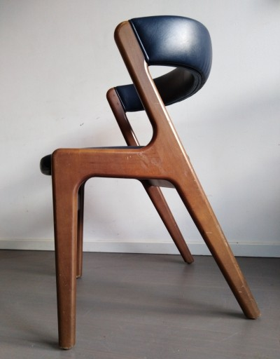6 x Fire arm chair by Kai Kristiansen, 1960s