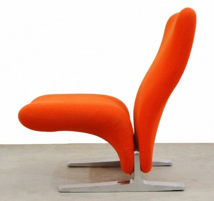 Vintage design 'Concorde' lounge chair by Pierre Paulin for Artifort, 1960s