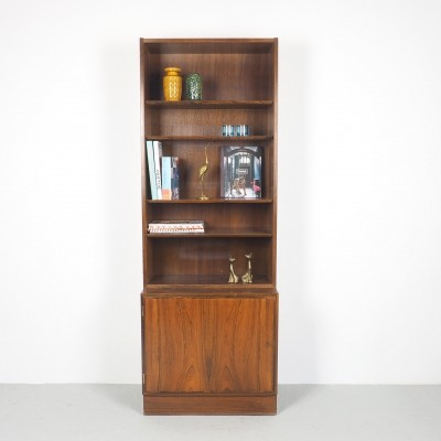 Small rosewood bookcase by Hundevad & Co, 1960's