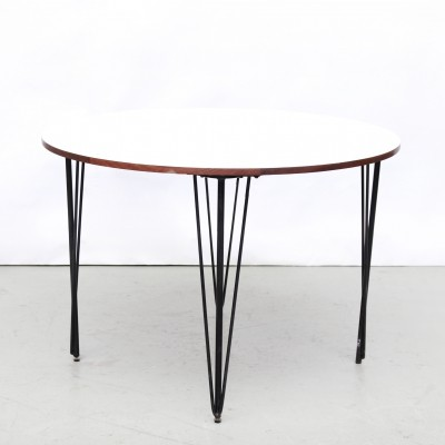 Round dining room table, 1960s