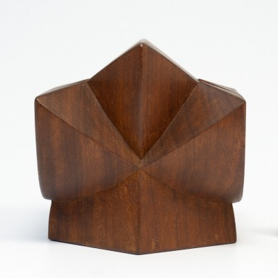 Abstract Wooden Sculpture