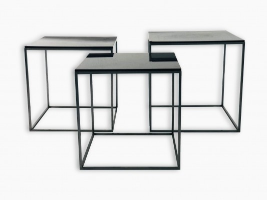 PK71 coffee tables by Poul Kjaerholm for Fritz Hansen, Denmark 1980s