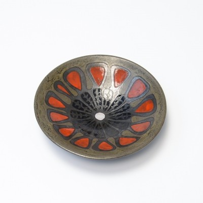Ceramic Bowl by Perignem, 1960s