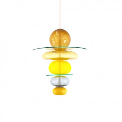 'Firenze' Suspension chandelier by Ettore Sottsass for Venini collection
