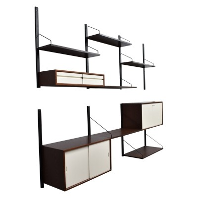 Poul Cadovius wall unit in wenge