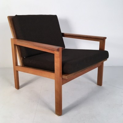 Teak 'Capella' Chair by Illum Wikkelsø, Denmark 1960s