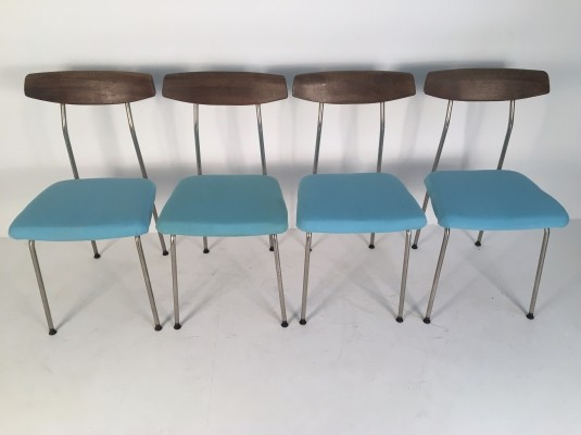 Set of 4 dining chairs by John & Sylvia Reid for Stag, 1950s