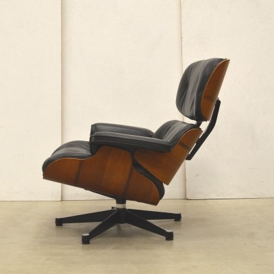 Perfect 1st Owner Eames Lounge Chair by Herman Miller, 1970s