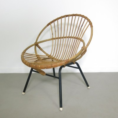 Arm chair by Dirk van Sliedregt for Rohé Noordwolde, 1960s