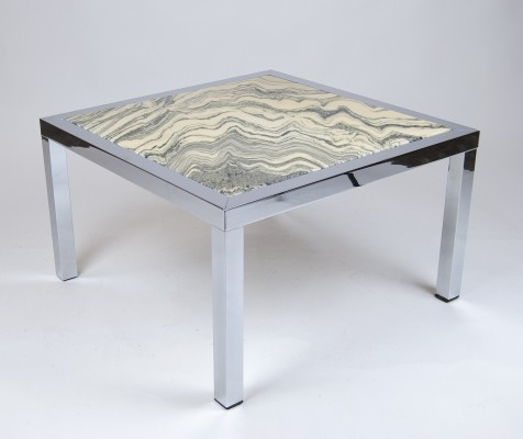 Extravagant Marble Coffee Table, 1960s