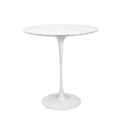 Knoll Saarinen Side Table with Marble, 1970s