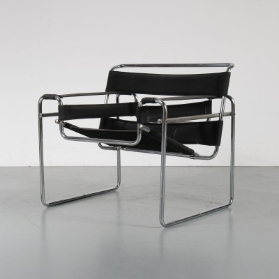 Wassily lounge chair by Marcel Breuer for Gavina, 1960s