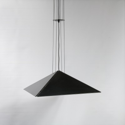 Hanging lamp by Rodney Kinsman for Bieffeplast, 1970s