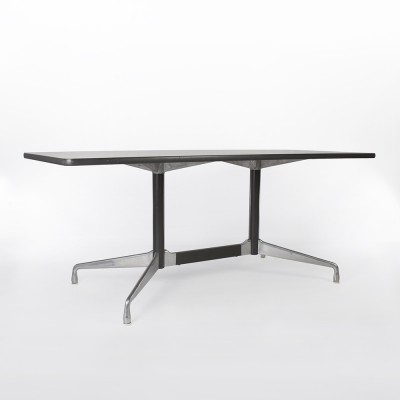 White Herman Miller Vintage Eames Segmented Rectangular Contract Table